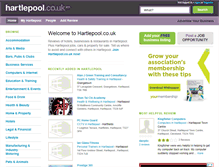 Tablet Preview of hartlepool.co.uk